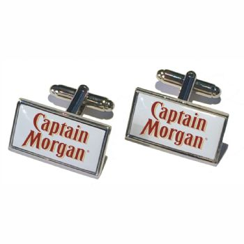 Cufflink Pair Rect 18x13mm  silver ready to wear, boxed